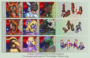 TGT Exclusive Avatars 3 by weremagnus