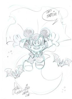 Vampire Mickey Mouse by BlackRose140792