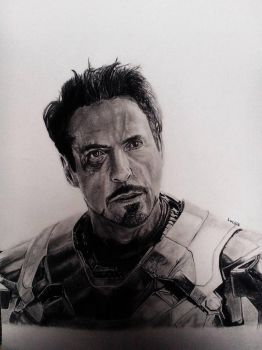 Iron Man / Tony Stark / Robert Downey Jr by TheAmazingAvenger