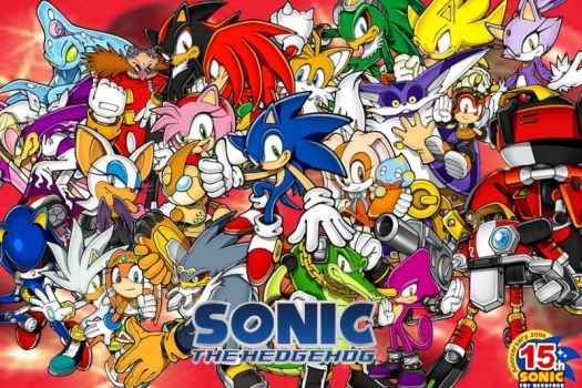 sonic and friends by AngryDeviant