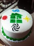 Homestuck Cake by setsuntamew