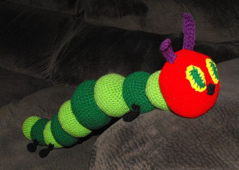 Very Hungry Caterpillar by Ginger-PolitiCat