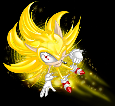 -Super Sonic Glow- by Traconian