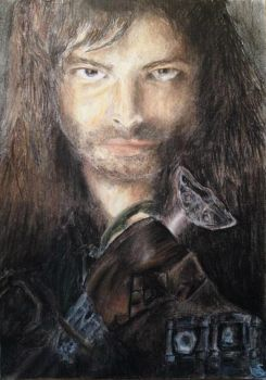 Kili - The Hobbit. by sdr-art