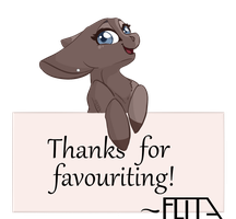Thanks for Favouriting! by Flita