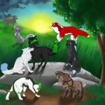 group collab by wolfyLRiina