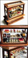 1:12 Pastry Display Case Detail by Bon-AppetEats