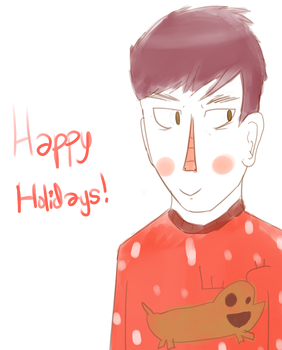 Happy Holidays! by genevendingmachine