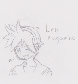 Len Kagamine by CymbelWings22