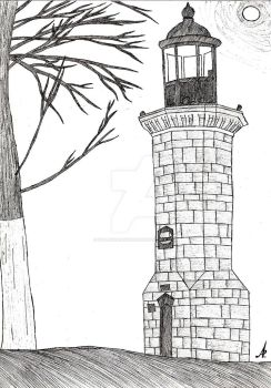 The Genoese Lighthouse (Farul Genovez) by FallenInDarkness