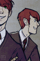 fred and george by rad-i-cal