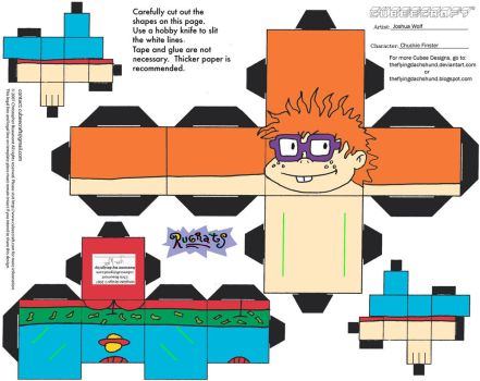 RR: Chuckie Finster Cubee by TheFlyingDachshund