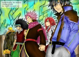 Fairy Tail Chapter 292 by accel89