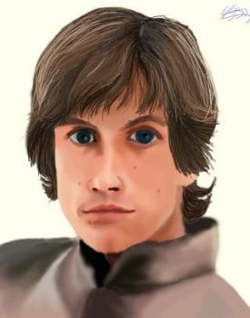 Luke Colour-By kagomelovesinu by LukeSkywalkerFans