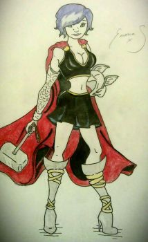 Lady Thor by mz895
