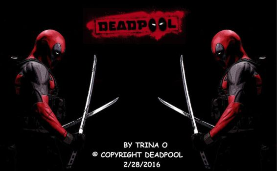 deadpool wallpaper by LadyLacus18