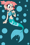 mermaid Pearl by angelchibivocaloid