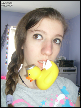 squeaky duck. by Absorbing-Fotography