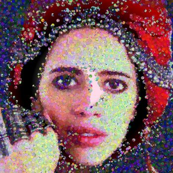 Kalki photo mosaic by Mosaikify