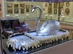 Silver Swan Automaton at Bowes Museum by bobswin