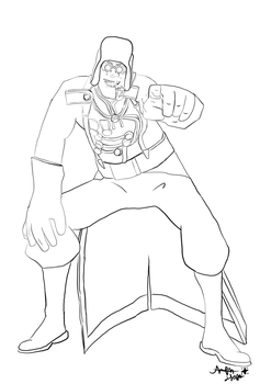 Jeff the Medic Sketch by xxWinglessWolf