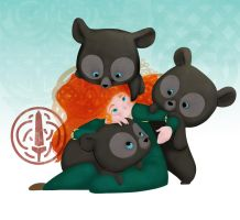 Firelocks and the three bears by lalocalocal