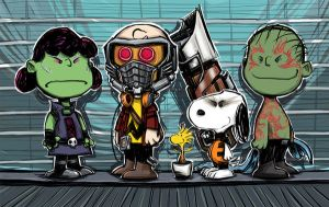 Guardians of the Galaxy/Peanuts mash-up by MatthewFletcher720