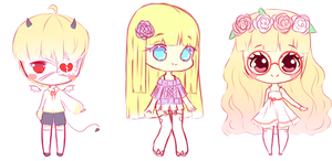 250 Points Adoptables by Seraphy-chan