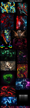 Tag Wall for October 2014 by TonyApex