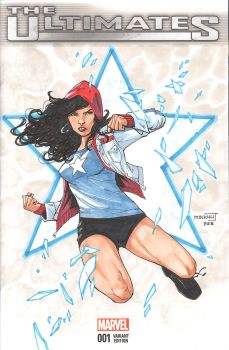 Miss America Chavez by MinkyuJungArt