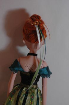 Anna  coronation doll ooak by VizZza