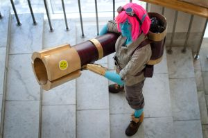 Tristana (cosplay League of Legends) by eiphen