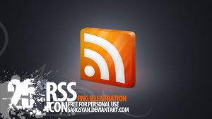 RSS Icon by sargsyan