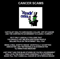 Cancer Scams by Valendale