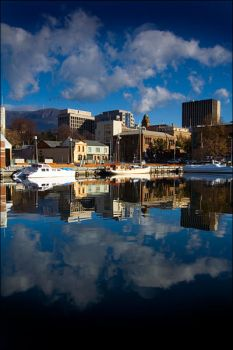 Hobart Dock by alexwise