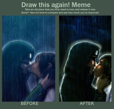 Meme: Before and After by Rel-Rogue