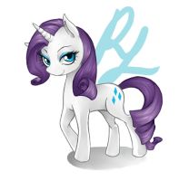 MLP - Rarity by TosioRec