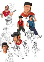 Scout sketches by Konnestra