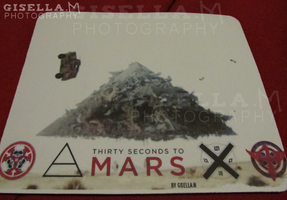 30STM This Is War Mousepad by gisellam