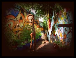 oldpaintingrevisited photo graff ad n sculpture lo by santosam81