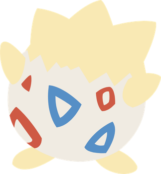 175 Togepi (Pokemon) by chachaXevaXjeffrey