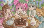Tea with the girls by Sira123