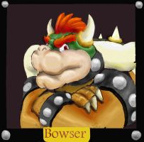 Bowser Portrait by pathwreck