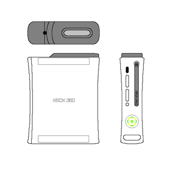 MS Paint Xbox 360 by Anteum