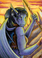 ACEO: Draxiana by Eleweth