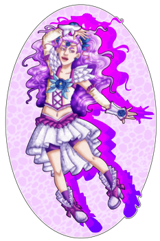 Precure Secret Santa 2016: Milky Rose by Eternala