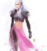 Daily - Speed Painting 01 by Koni-art
