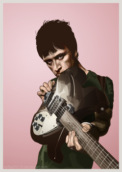 Johnny Marr and His Guitar by SoftSpirit118