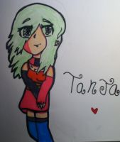 Tanja as a FFFILTHY human ERGHH! by Hailzthewakawaka