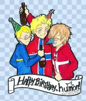 Happy Birthday, humon by thelifeofabinder